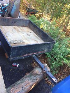 4x3 1/2 feet trailer .