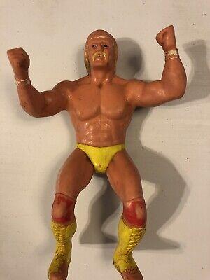 """HULK HOGAN - WWF SUPERSTARS - VINTAGE 1984 LJN 8"""" ACTION FIGURE"""