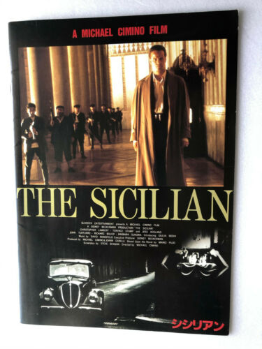 "Christopher Lambert, Terence Stamp ""The Sicilian"" Japan movie souvenir program"
