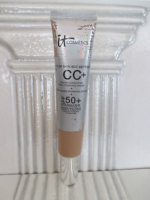 It Cosmetics Your Skin But Better Cc  Cream     Serum Medium 2 53 Oz Inv  756Gy