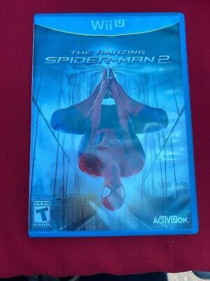 The Amazing Spider-Man 2 (Nintendo Wii U, 2014) Tested Working Free Shipping!!