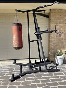 Boxing bag and stand