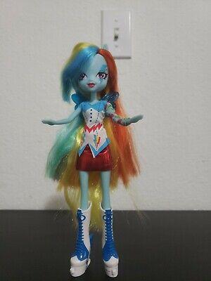 My Little Pony G4 - Rainbow Dash - 2013 Rainbow Rocks Equestria Girl