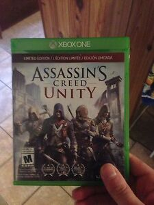 assasin creed UNITY  xbox one