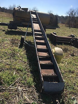 Incline Conveyor Pecan Corn Chain Conveyor Cleated Conveyor