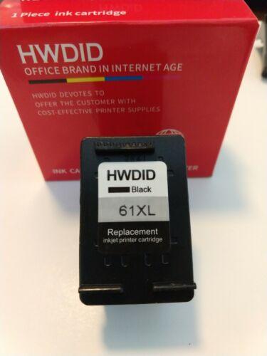 61 XL Black Ink Cartridge by HWDID for HP Deskjet 1510, 2540