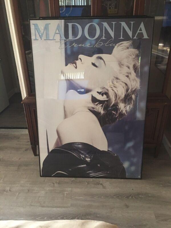 Original Madonna True Blue Promo Poster