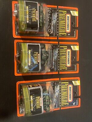 Matchbox - Premiere Military Collection - Abrams A1M1 Tank, Humvee, Bradley