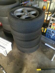 Stock Subaru Forester 16inch rims and tyres Alexandra Hills Redland Area Preview
