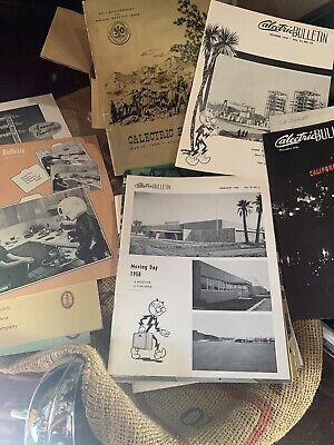 20+ Vintage 1950s 1960s Calectric Reddy Kilowatt Bulletin Annual Reports
