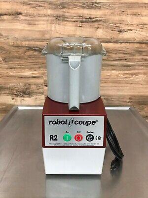 Robot Coupe R2b Food Processor With 3 Quart Bowl 120 V