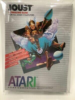 JOUST Rom Cartridge for ATARI 400 800 XL XE Small Box SEALED