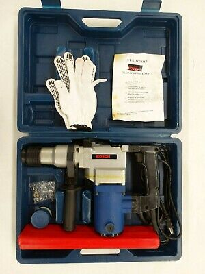 Bosch Hammer Drill Z1c-26 Chisel Function Gs-ce-emc Complete Set In Case