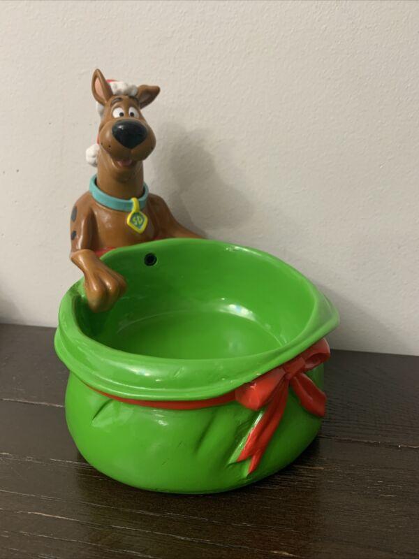 Vuntage Scoobydoo Christmas Bowl Musical