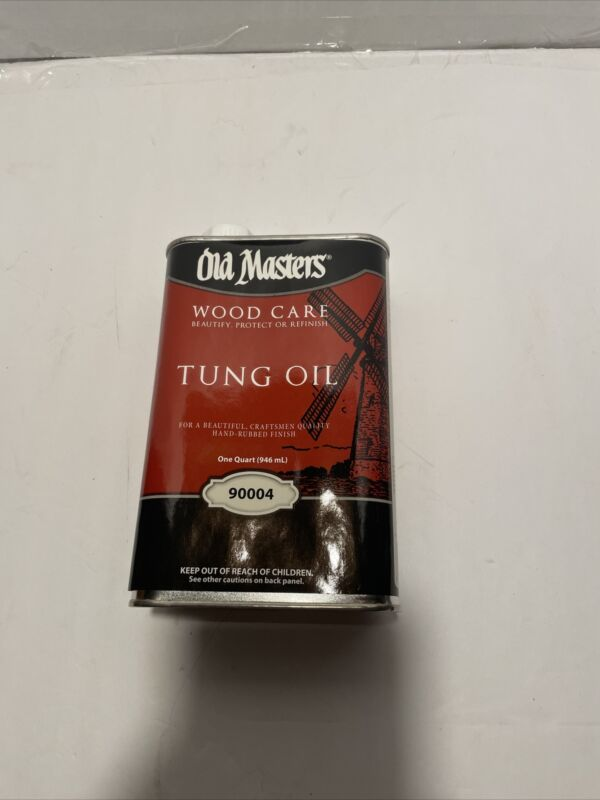 Old Masters 90004 1 Quart 100% Pure Tung Oil,No 90004,  Old Masters