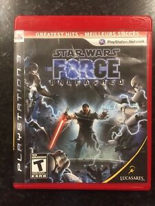 Star Wars the Force Unleashed PS3 game