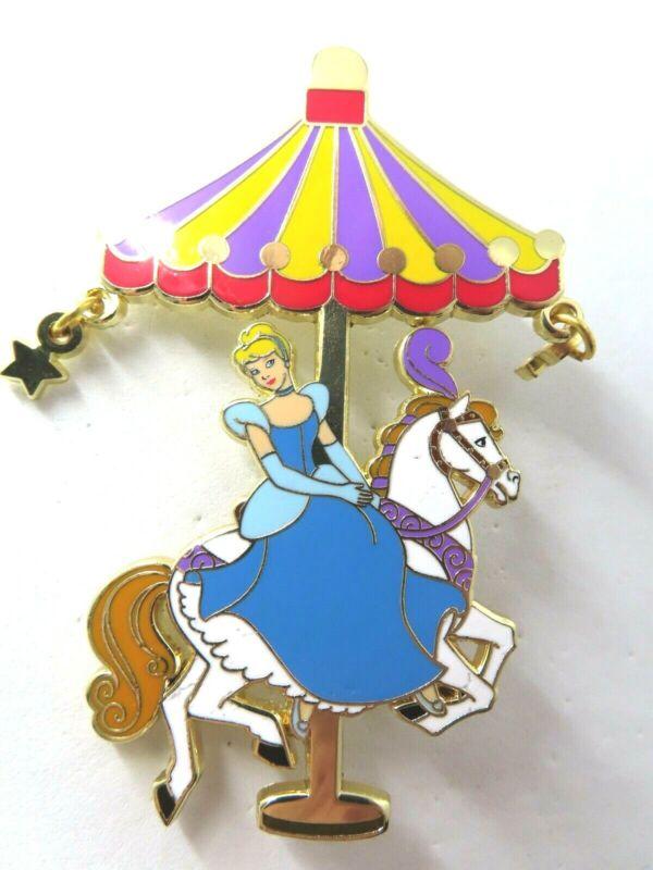 Disney Pin DLP - Princess Carousel - Cinderella LE 700 AS IS #138496