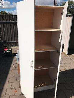 Shed Wooden Storage Wardrobe Cupboard with Shelves Free