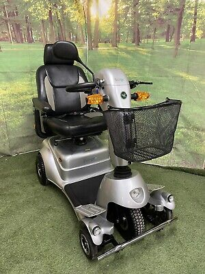 Lovely Quingo Plus + Large 8mph All Terrain Mobility Scooter 5 Wheel