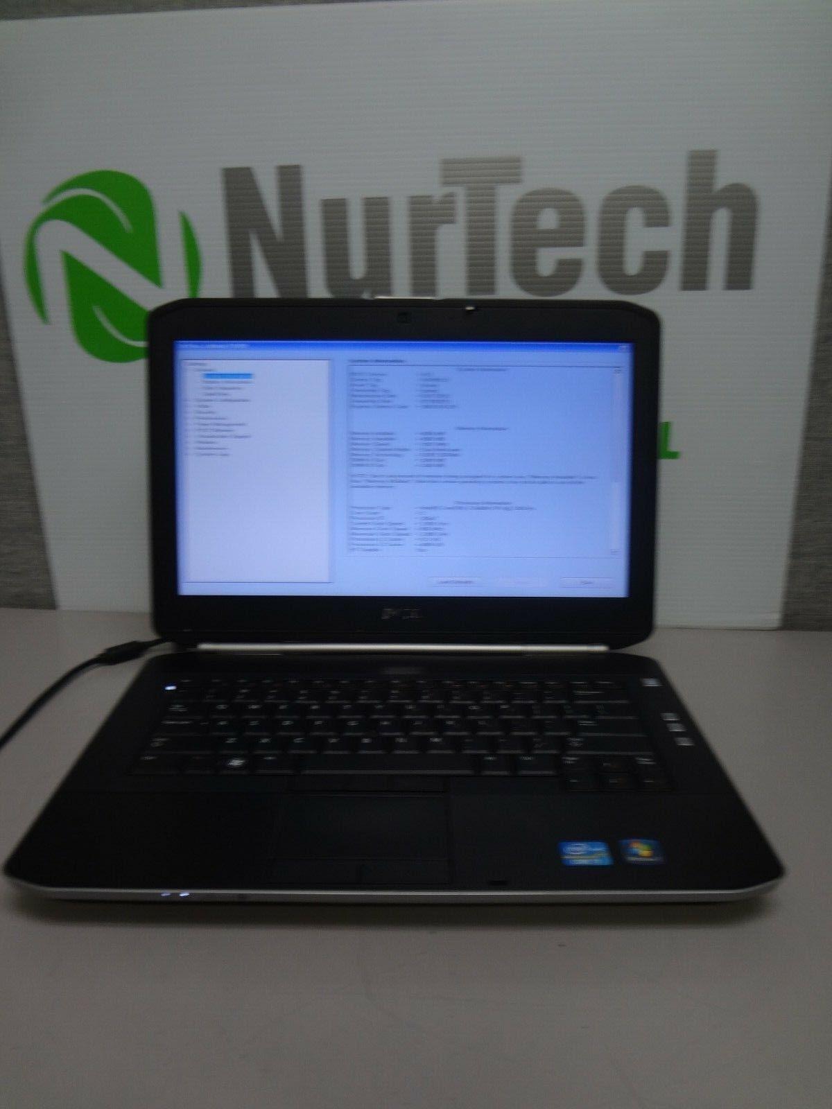 Dell Latitude E5420 i7-2640M 2.8GHz 4GB NO HDD Webcam WiFi DVDRW Laptop NO AC
