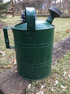 Old fashioned watering can