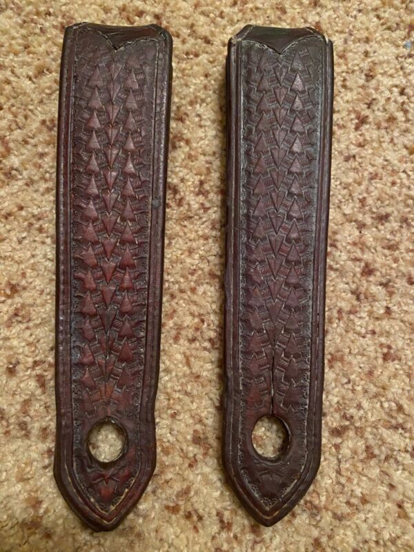 Old West Leather Company Slobber Straps