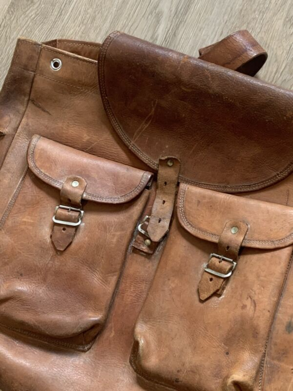 Heavy Leather Gorgeous Backpack VINTAGE