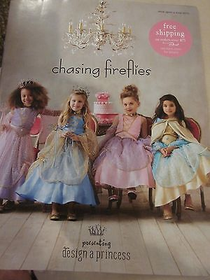 CHASING FIREFLIES CATALOG ONCE UPON A TIME 2015 DESIGN A PRINCESS BRAND NEW