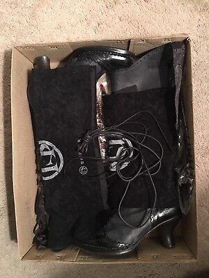 Neosens Rococo Women's Knee High Leather Boots Size 7.5 Usa/Eur 38 d'occasion  Expédié en Belgium