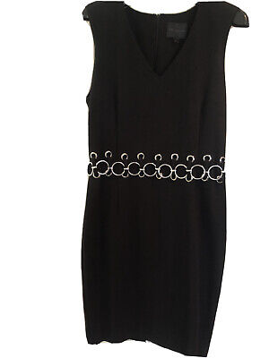Hotel Particulier Black Shift Dress Size L