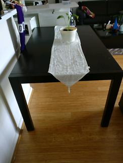 Dark / Chocolate Dining Table