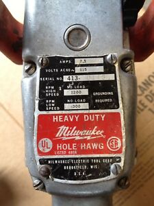 "Milwaukee 1/2"" Hole Hawg Compact Drill 300/1200 rpm"