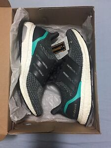 Adidas Ultra Boost Solid Grey Shock Mint  Deadstock US8.5 Sunnybank Brisbane South West Preview