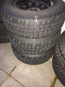 265/75R16 Studded Winter Tires
