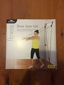 Door Gym Set - Crane fitness Macquarie Fields Campbelltown Area Preview