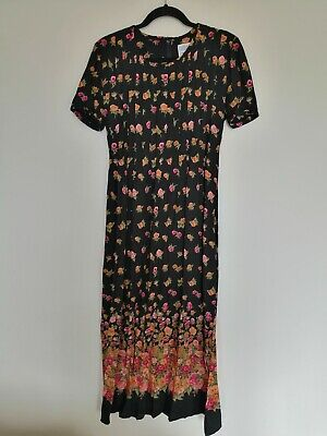 """Jessica Howard. Petite Size 10 with side slits. Maxi dress. Length 52"""" bust 34"""""""
