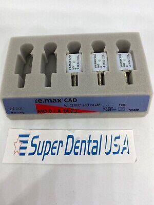 Cerec Ivoclar Emax Implant Mo 0 - A14 L Screw Retained 3 Blocks