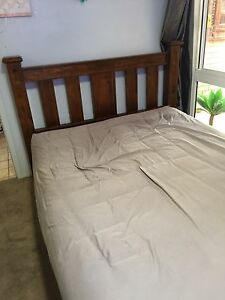 Queen wooden bed frame from harvey norman RRP$4,500 Cleveland Redland Area Preview