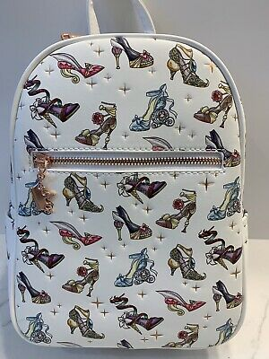 Loungefly Disney Princess Heels Faux Leather Mini Backpack SEE BELOW