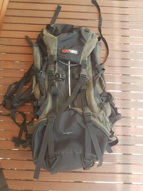 61209121c5a6 Black Wolf McKinley 65L Backpack great condition
