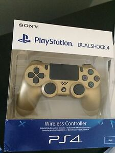 Brand new gold ps4 controller (unopened)