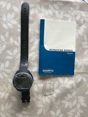 Suunto vyper silver dive computer - never used - with spare screen
