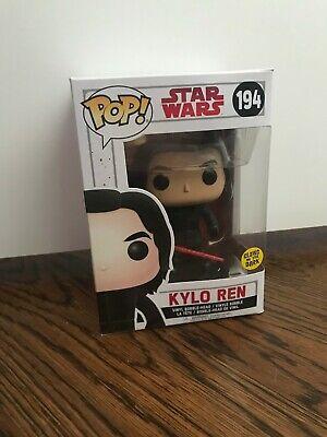 Funko Pop! Star Wars The Last Jedi - Kylo Ren Action Figure Glow in the Dark 194
