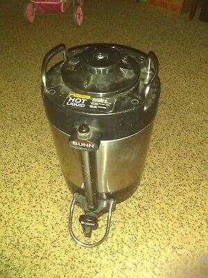Bunn Sgc-60d 1.5 Gal Stainless Thermo Insulated Hot Coffee Dispenser No Stand