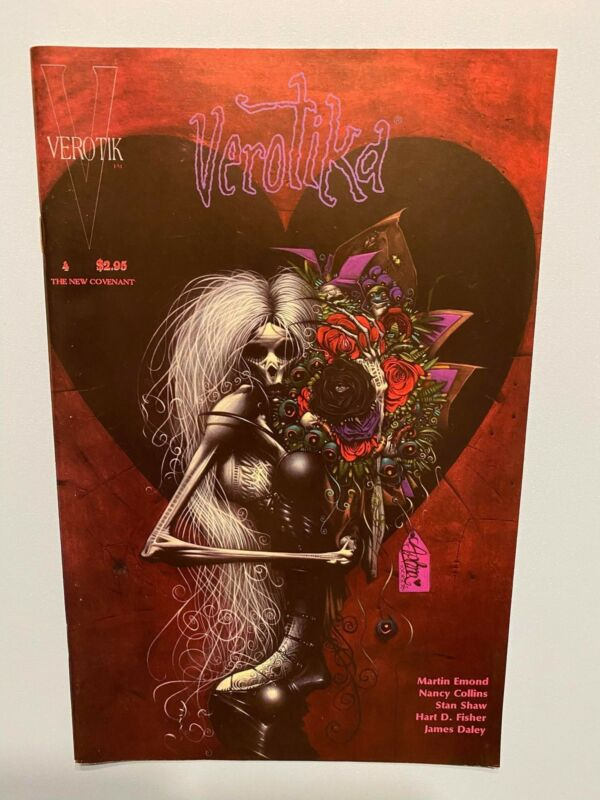 Glenn Danzig VEROTIKA # 4 ~ Most DisturbingDepravedBrutal COMIC Ever! SEXXHORROR