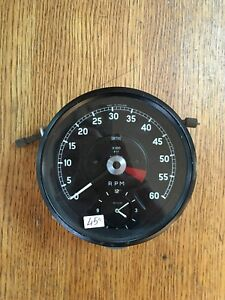 6500rpm electric tachometer for jaguar