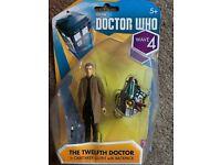 "Doctor Who 10 x Clara Oswald Holographique Hologramme Transparent 3.75/"" figures lot"