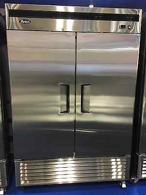 Atosa Mbf8507 Commercial 2 Door Stainless Steel Refrigerator Etl Free Lift Gate