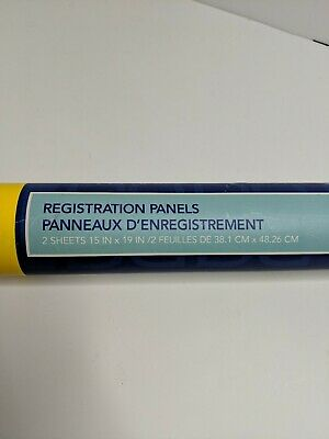 What Do Yudu Registration Panels 2 Sheets New In Tube Screenprinting