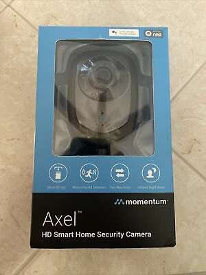 Momentum Axel MOCAM-720-01 HD Smart Home Security Camera w/ Two Way Audio